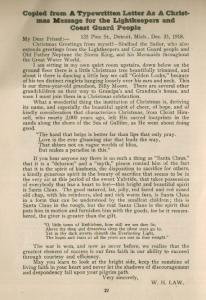 Christmas Letter 1919