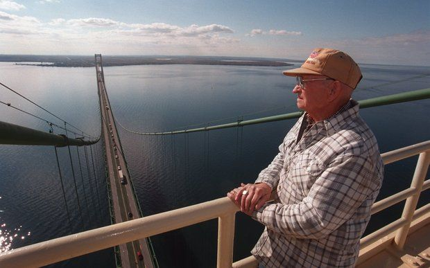 The Great Lakes Lighthouse Keepers Association offers rare chance to scale Mackinac Bridge.