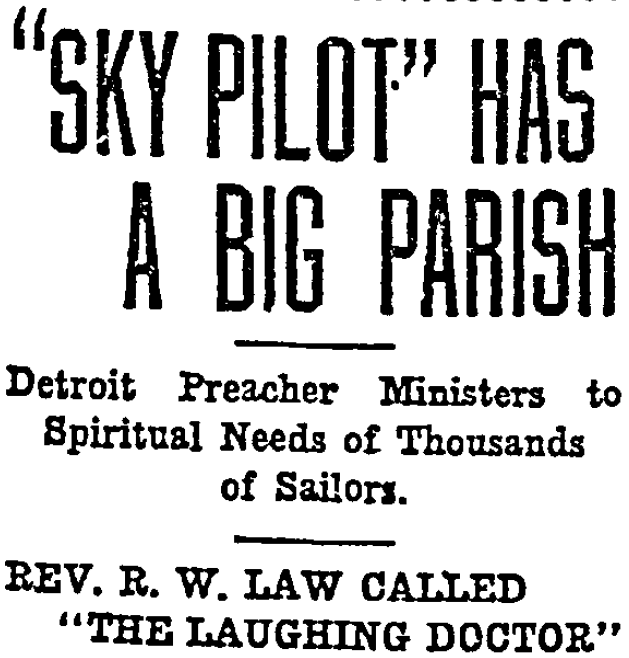 What's in a name? The Sky Pilot of the Great Lakes.