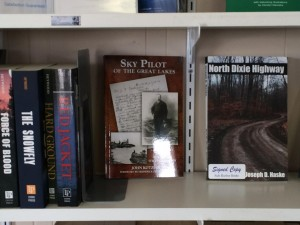 Sky Pilot of the Great Lakes at Safe Harbor Books