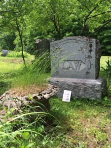 Law Family Plot at Rockview Cemetery