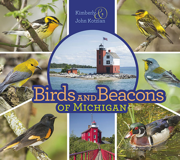 New Book – Birds and Beacons of Michigan